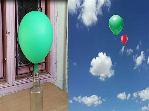flying balloon  home  powder drain