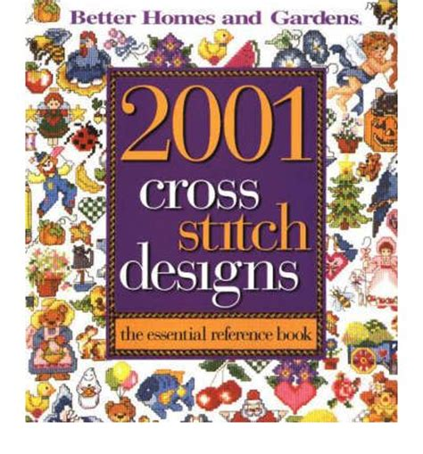 2001 cross stitch designs better homes gardens