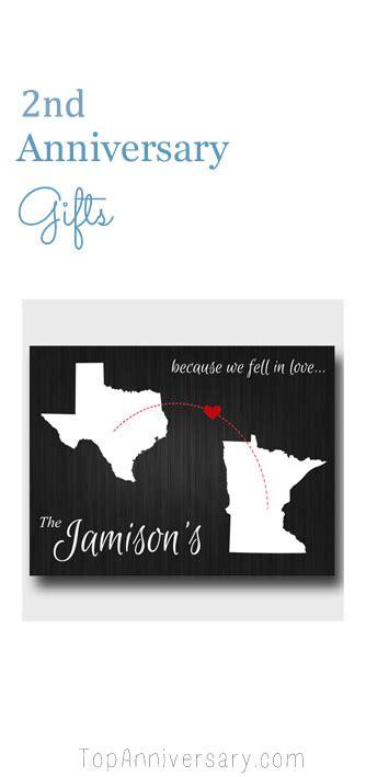 2nd anniversary gift second wedding anniversary gift ideas