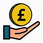 Money Icon Cash Pound Currency Coin Editor