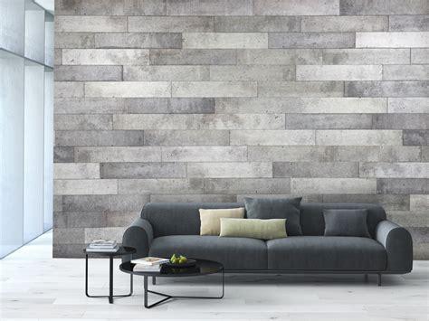 wall decoration duo concrete panels murdesign