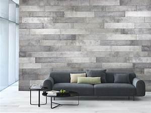 Decoration Mur Interieur Salon : wall decoration duo concrete panels murdesign ~ Teatrodelosmanantiales.com Idées de Décoration
