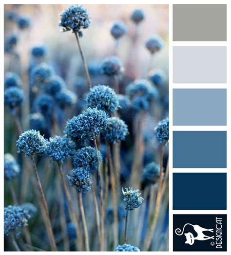 blue pompom blue grey steel designcat colour inspiration pallet serene s wedding