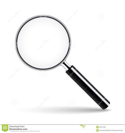 loupe avec le verre transparent image libre de droits image 34314196
