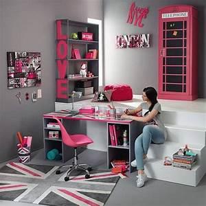 Maison Du Monde Bureau Fille : ensemble de caissons de bureau grises desk sur maisons du monde dcouvrez tous les meubles et ~ Melissatoandfro.com Idées de Décoration