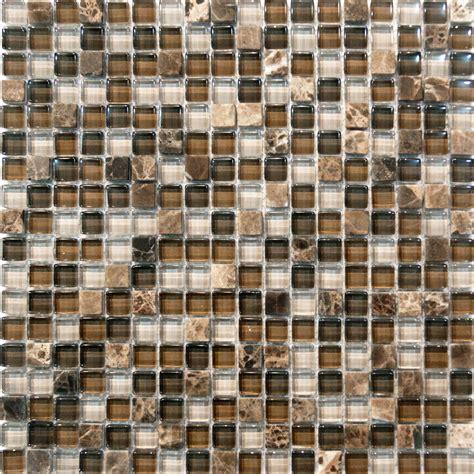 mosaic kitchen tiles sle emperador marble glass mosaic tile kitchen 4287