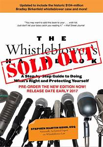 New Edition of Highly Acclaimed Whistleblower Book ...