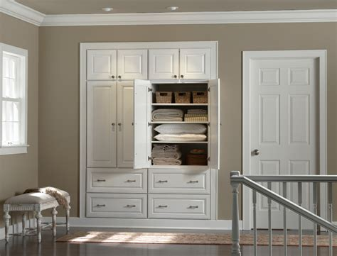 hallway closet minneapolis by mid continent cabinetry