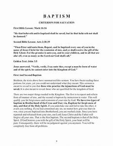 baptism in bcs With baptism letter