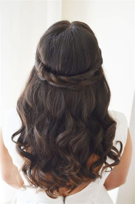 wedding hairstyle bridal hair ideas brunette hairstyle