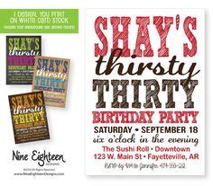 grown  birthday parties images invitation