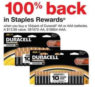 Office Depot Coupons December 2012 by Free Batteries At Staples And Office Depot Thru 12 1
