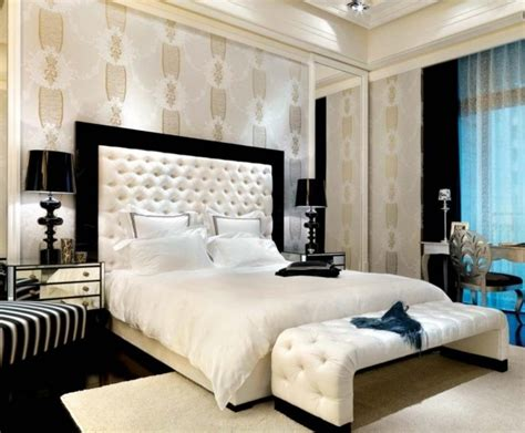papier peint chambre à coucher adulte decoration de chambre a coucher avec papier peint visuel 8
