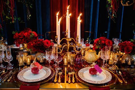 10 Ideas for a Beauty and the Beast Inspired Wedding
