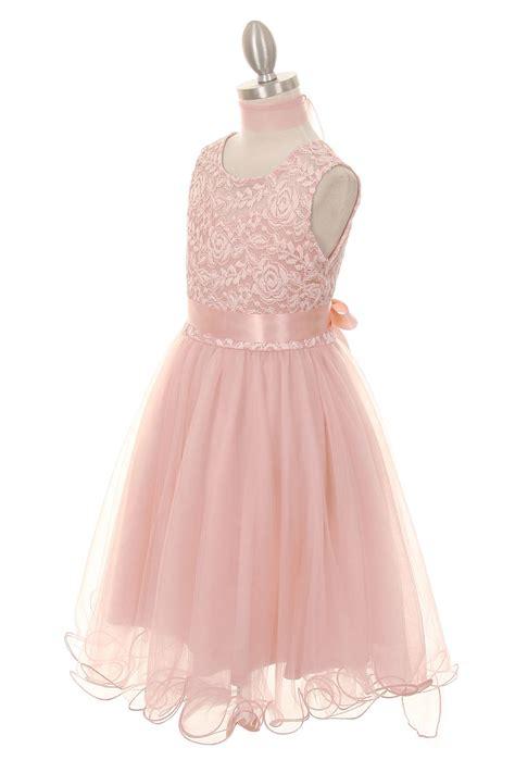 girls blush dresses soft mesh dress ages