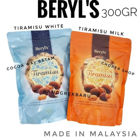 unik coklat beryls tiramisu import malaysia gr beryl