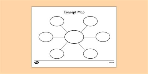 Concept Map Template Concept Map Template Concept Maps Concept Map Template