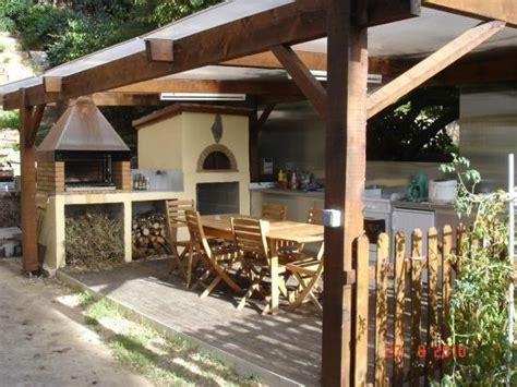 cuisine d été couverte cuisine d 39 été chambres d 39 hotes ajaccio corse du sud