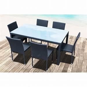 Table Resine Tressee : table chaise jardin resine tressee images ~ Edinachiropracticcenter.com Idées de Décoration