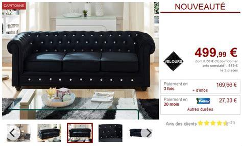 canapé et fauteuil pas cher canapé et fauteuil velours 9 coloris chesterfield pas cher