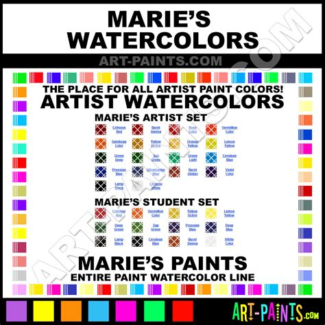maries watercolor paint brands maries paint brands