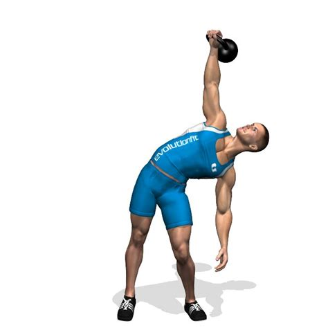 kettlebell oblique exercises windmill chest workout windmills muscles abdominals workouts