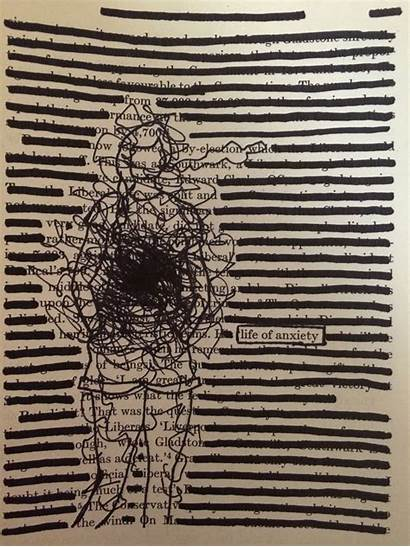 Poetry Blackout Hymer Brooke Found Anxiety Altered