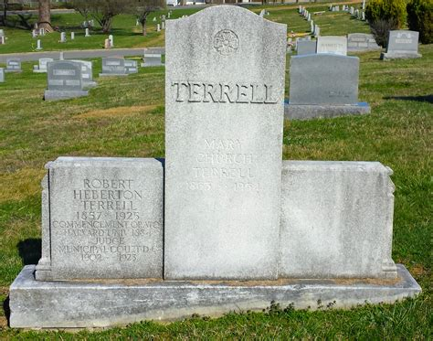 Mary Eliza Church Terrell 1863 1954 Find A Grave