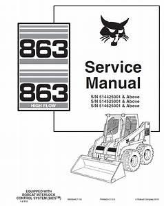 Bobcat 863 Wiring Diagrams
