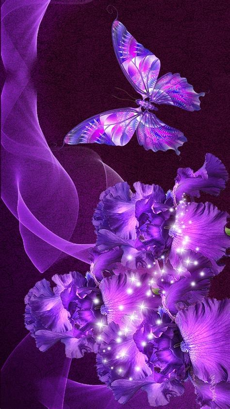 Animated Butterfly Wallpaper For Mobile - wallpaper purple butterfly mobile 2019 wallpapers
