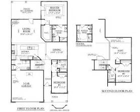 traditional two story house plans house plan 2224 kingstree floor plan traditional 1 1 2 story house plan with 3 bedrooms and 3