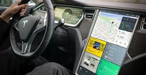 Estúdio faz redesign de interface do Tesla Model S | Sala7design