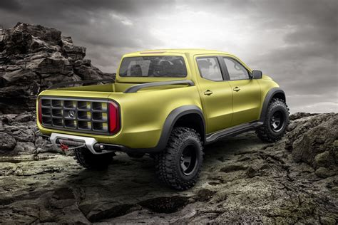 This Is Mercedesbenz's New Premium Pickup Truck  The Verge