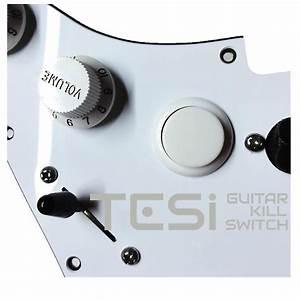 Tesi Dito 24mm Arcade Button Guitar Kill Switch Solid