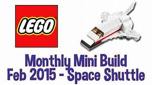 LEGO Space Shuttle - Monthly Mini Build - February 2015 ...