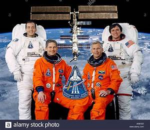 four astronauts crew for NASA STS 111 mission Cockrell ...