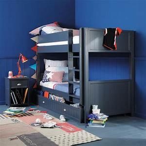 Tiroir De Rangement Bois : tiroir de rangement couchage 90x190 en bois gris newport ~ Melissatoandfro.com Idées de Décoration