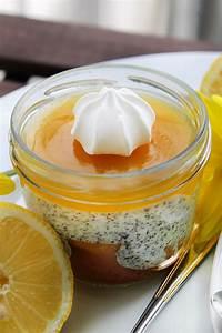 Blinde Gläser Backpulver : zitronenkuchen im glas dessert mit mohnquarkcreme ~ Lizthompson.info Haus und Dekorationen