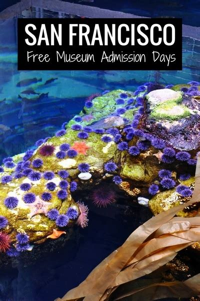 museum admission days san francisco