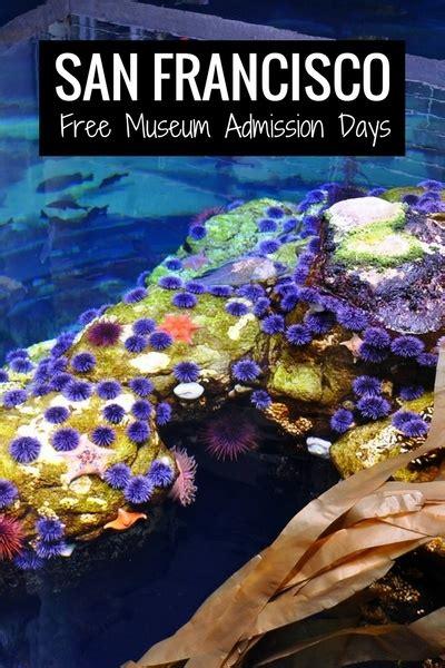 museum admission days san francisco