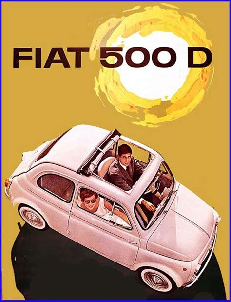 fiat 500 vintage italian originality ganzo dishing