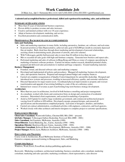 10 marketing resume sles hiring 100 images senior
