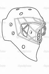Mask Hockey Vector Coloring Pages Goalie Template Jason Illustration Printable Outline Nhl Masks Chisnikov Depositphotos Getcolorings Print Colourbox Team Nikita sketch template
