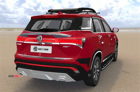 mg hector accessories detailed   car configurator