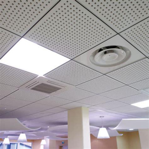 prix plafond suspendu dalles plafonds suspendus d 233 montables en dalles de pl 226 tre perfor 233 pour l absorption acoustique knauf