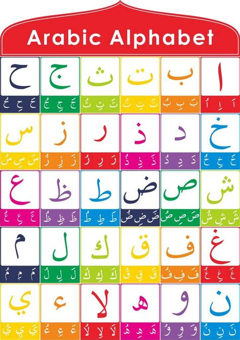 how many letters are in the arabic alphabet 274 best images about cours d arabe on 28333