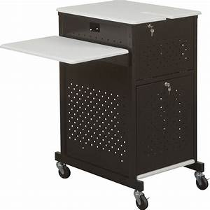 balt 27623 optima gm document camera security cart and top With document camera cart stand