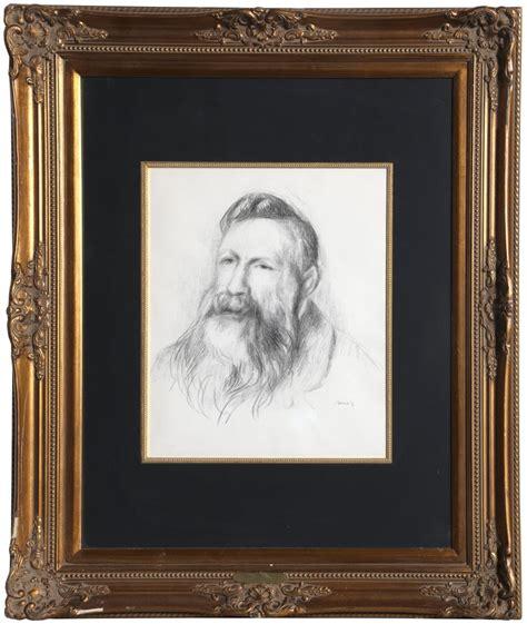 Pierre Auguste Renoir Portrait Of Rodin By Pierre