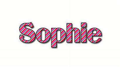 Sophie Logos Stripes Text Flaming Animated Flamingtext