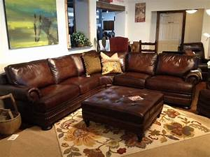 Bernhardt foster leather sectionals austin tx houston for Sectional furniture houston tx